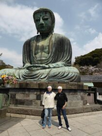 Buddhan av Kamakura i Japan