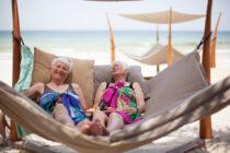 Rita & Maud provar exotiska frukter
