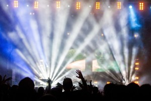 Ljusshow-koncert