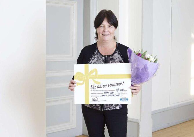 Angeli tog hem miljonvinst på Vinnardagen