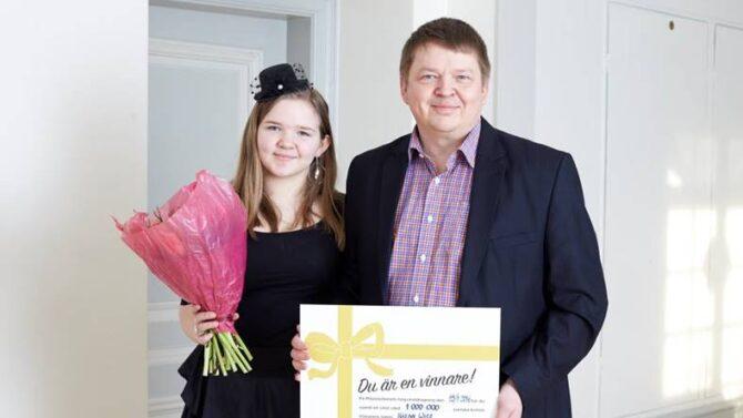 Håkan vann 1 miljon på Vinnardagen