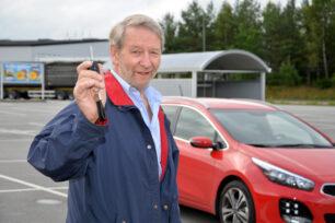 Ove Andersson skrapade fram en Kia!
